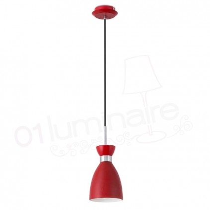 Suspension luminaire suspension led suspension bar for Luminaire rouge