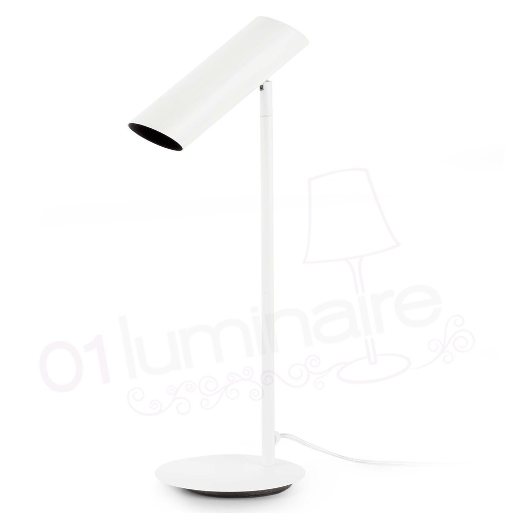 Lampe poser link blanche faro for Lampe halogene a poser