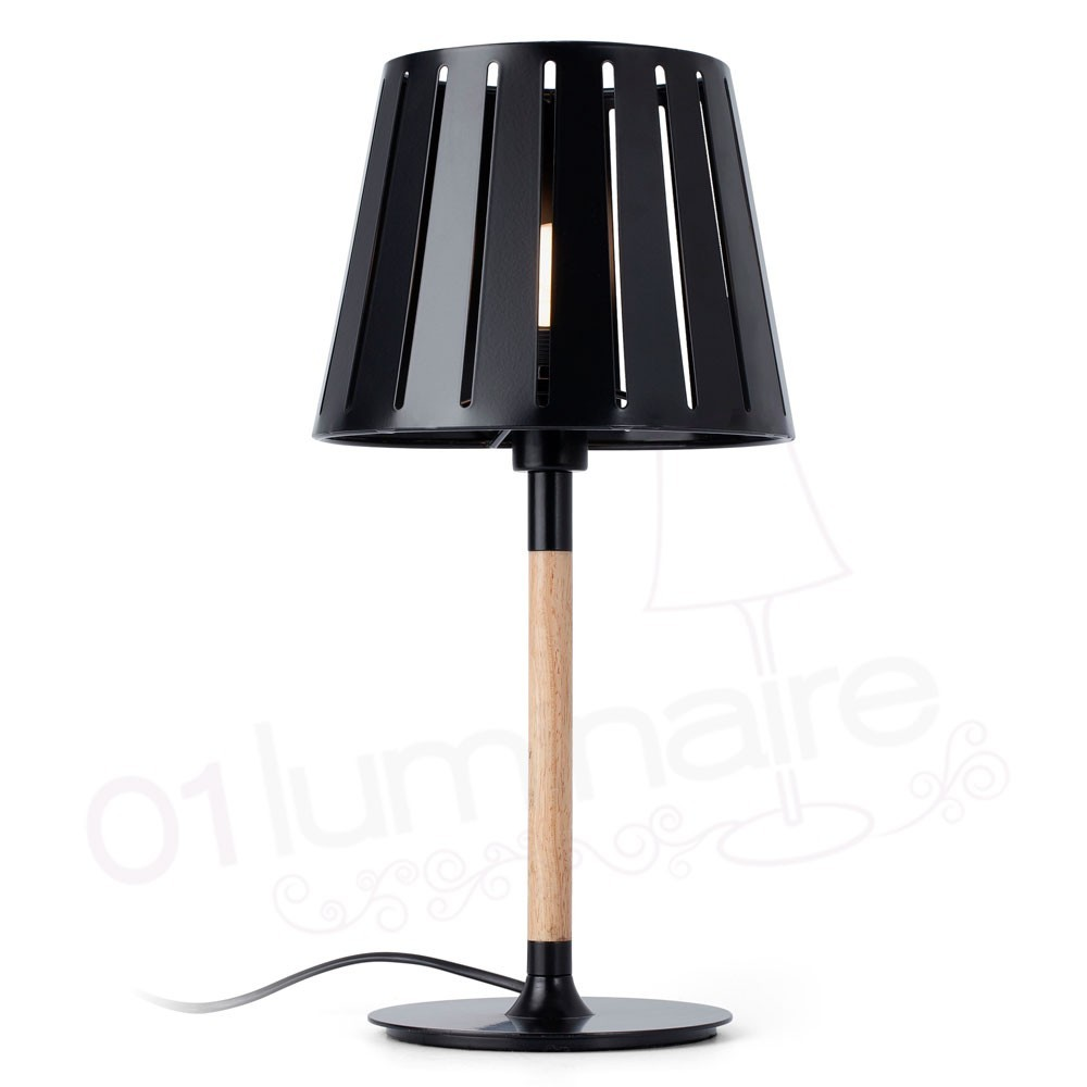 lampe poser mix noire faro. Black Bedroom Furniture Sets. Home Design Ideas