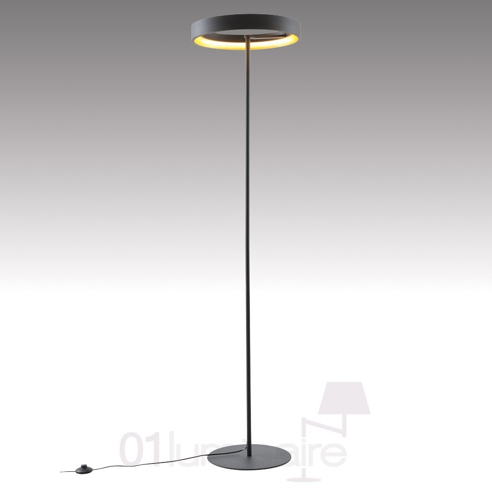 lampadaire astro led noir mat market set. Black Bedroom Furniture Sets. Home Design Ideas