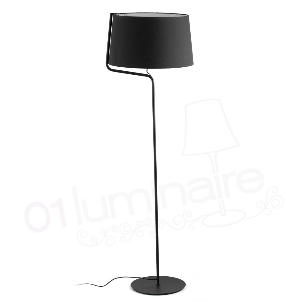 lampadaire berni noir 29336 faro. Black Bedroom Furniture Sets. Home Design Ideas