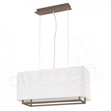 Suspension Vesper marron 29987 Faro