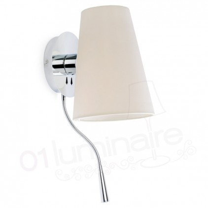 Applique Lupe chrome liseuse Led 29996 Faro