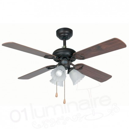 Ventilateur Lisboa marron 33102 Faro