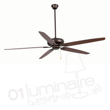 Ventilateur Nisos marron 33363 Faro