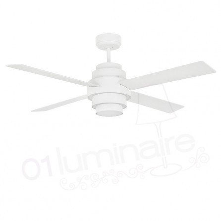 Ventilateur led Disc Fan blanc 33397 Faro