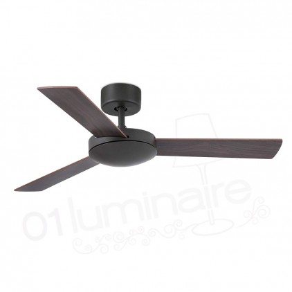 Ventilateur Mini Mallorca marron 33605 Faro