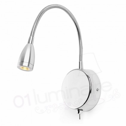 Liseuse Loke led chrome 40994 Faro