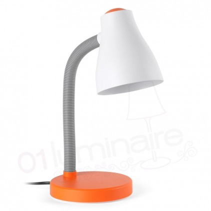 Lampe de bureau Bob orange 52043 Faro