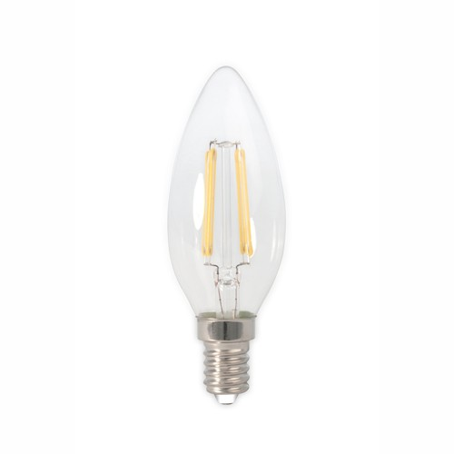 Ampoule LED filament E14 3,5W bougie 474490 Calex
