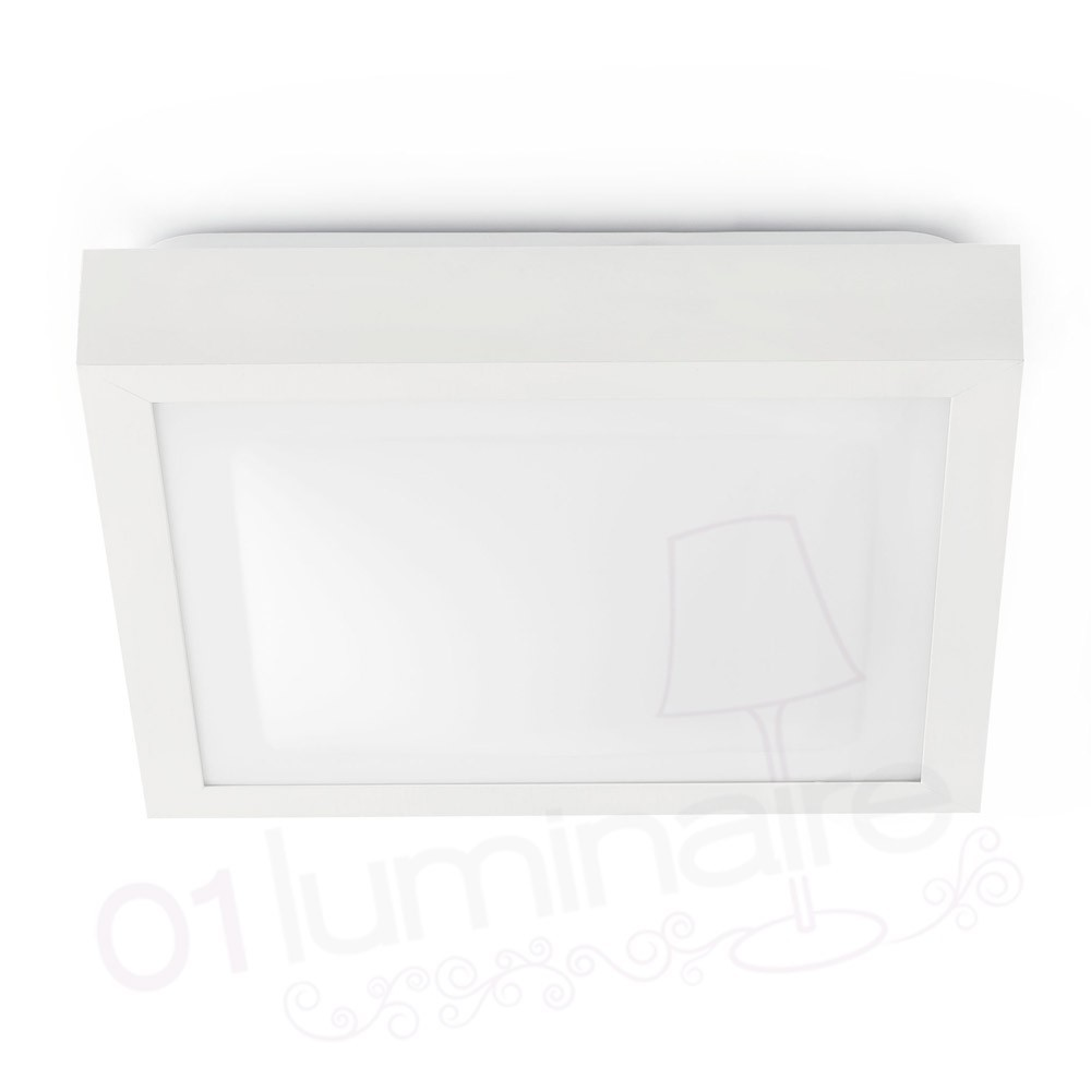 plafonnier tola 1 blanc e27 20w luminaire salle de bain faro. Black Bedroom Furniture Sets. Home Design Ideas