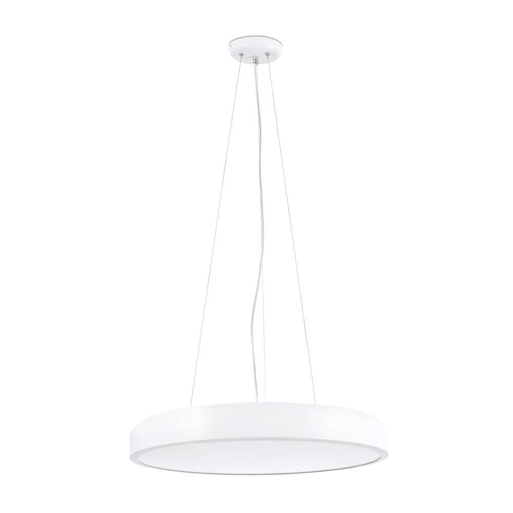 Kit suspension luminaire cocotte blanc faro for Luminaire blanc