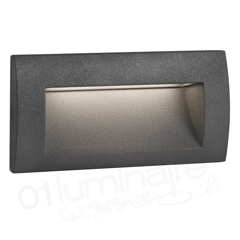 Encastrable exterieur mur sedna 2 led 3000k 70147 faro for Spot led encastrable exterieur terrasse