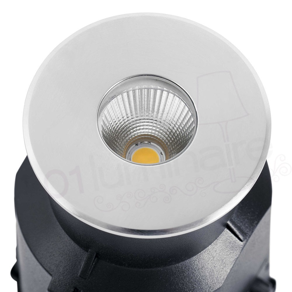 Spot encastrable taro led gris fonc faro for Spot exterieur encastrable plafond