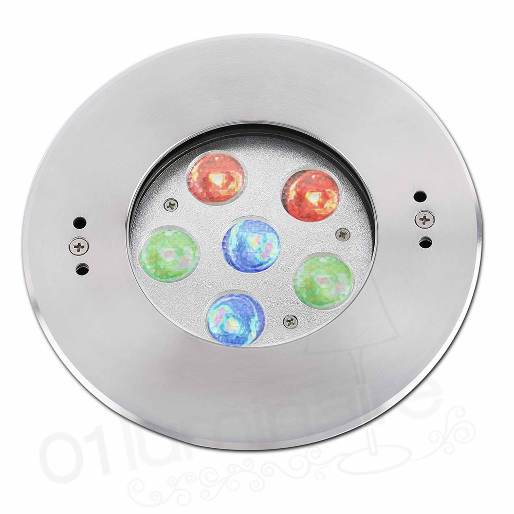 Spot encastrable edel led rgb pour piscine faro for Spot led encastrable exterieur terrasse