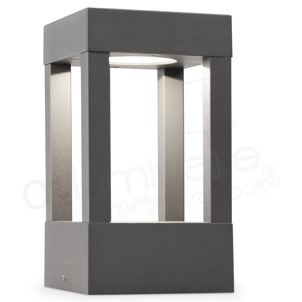 borne potelet ext rieur led agra 3000k ip54 70755 faro. Black Bedroom Furniture Sets. Home Design Ideas
