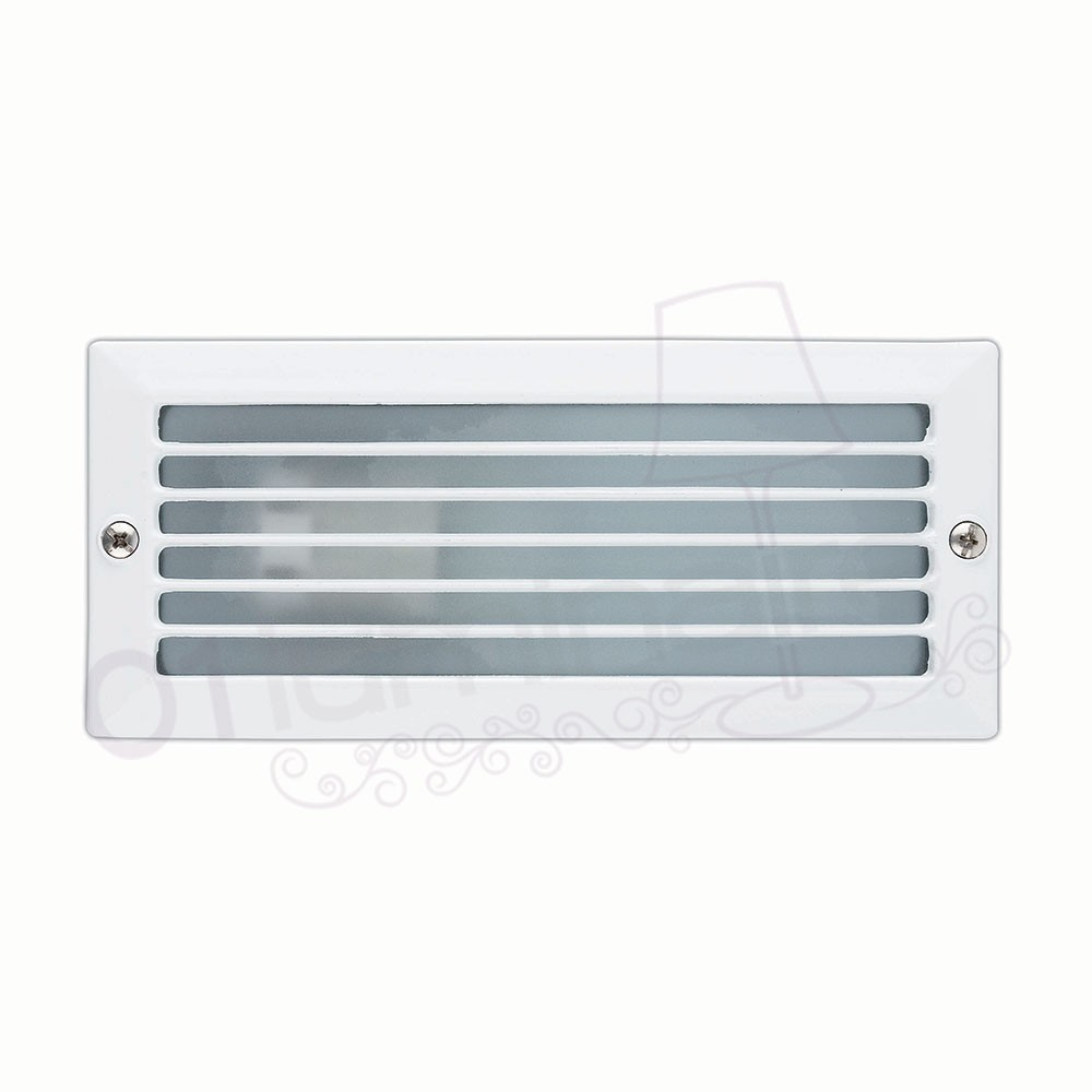 Spot encastrable ext rieur esca blanc 1 lumi re e27 71480 faro for Lumiere exterieur encastrable