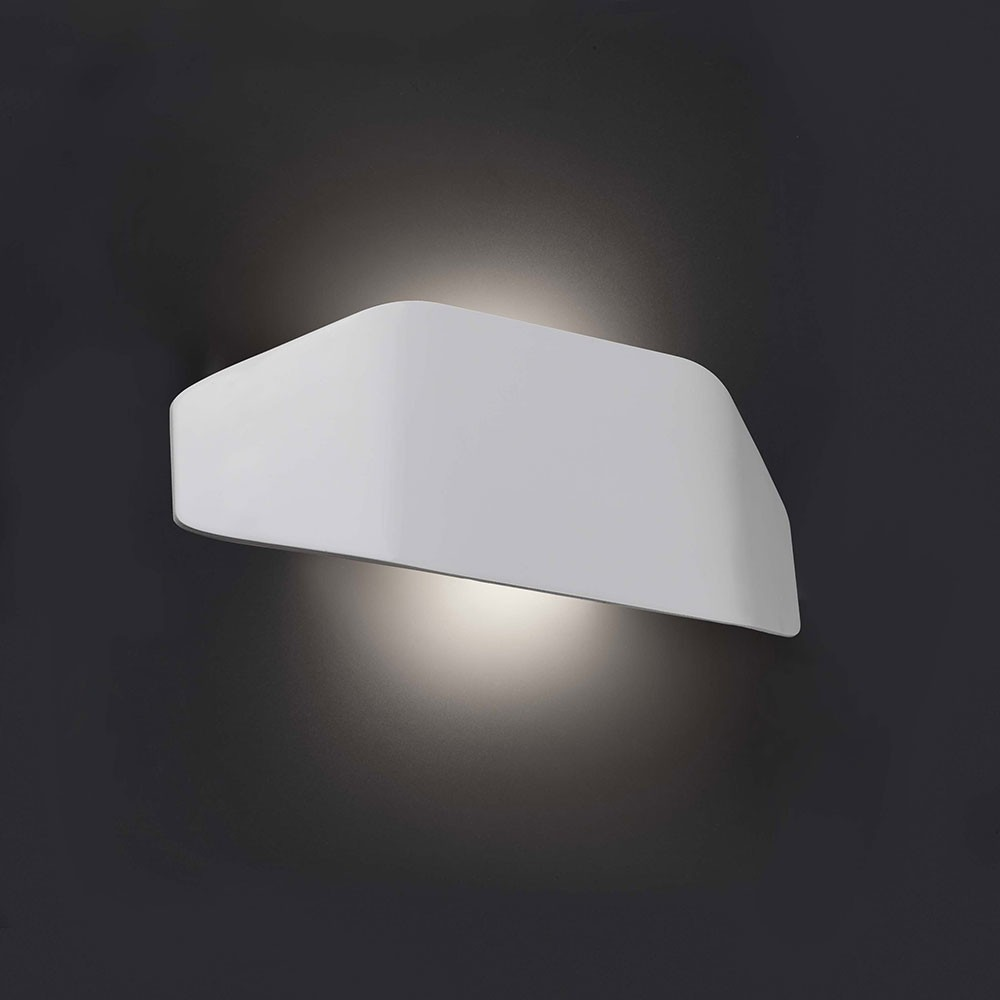 Applique ext rieure future blanc 1 lumi re e27 20w faro for Lumiere murale exterieur