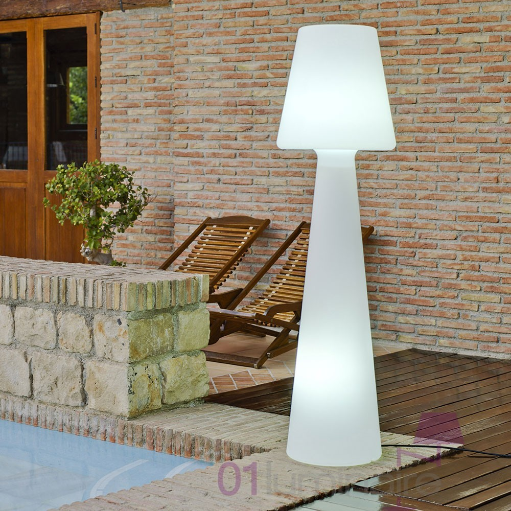 lampadaire ext rieur casa light hauteur 165cm lampe ext rieur. Black Bedroom Furniture Sets. Home Design Ideas