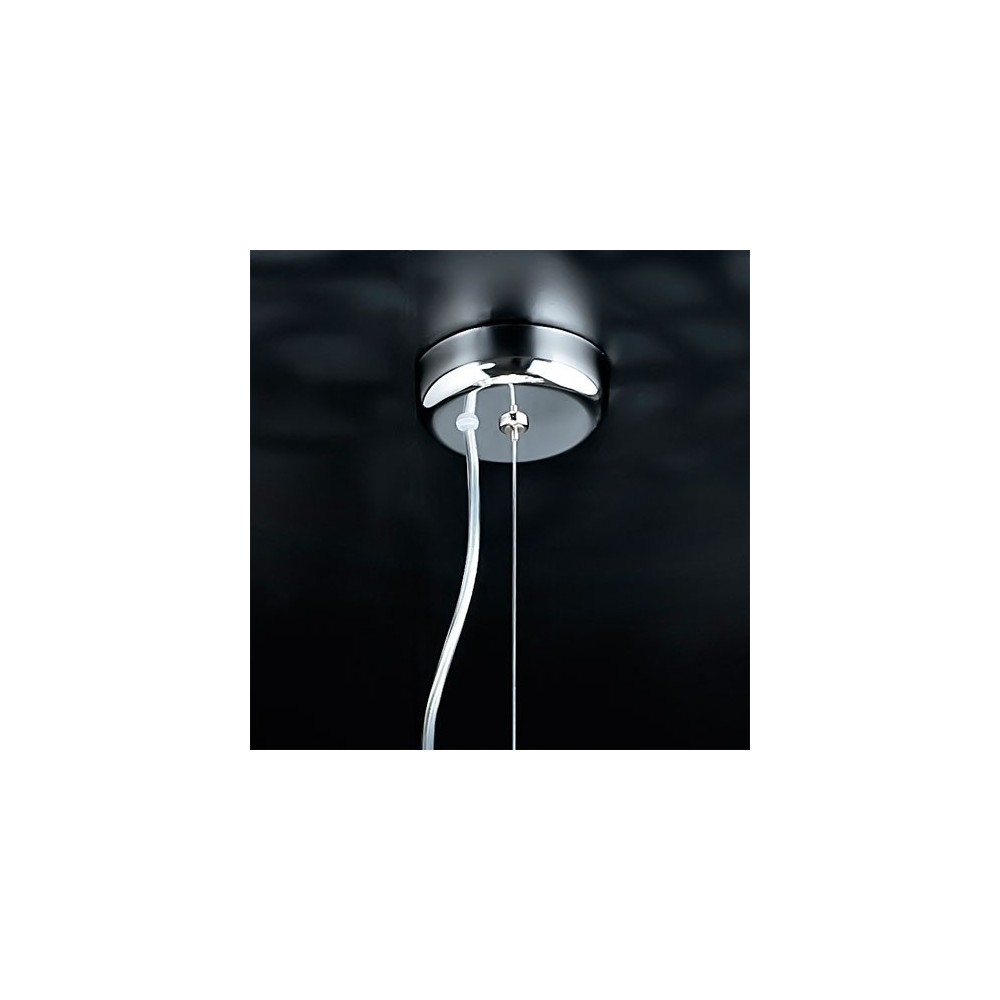 Suspension astre 6 lumi res cristal luminaire design for Suspension luminaire contemporain