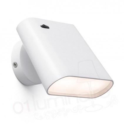 Applique LED Aurea blanc 62115 Faro