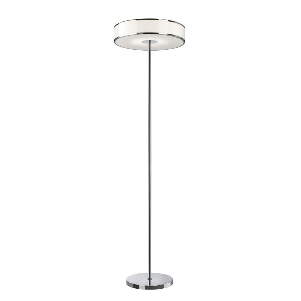 lampadaire led lounge led chrome 17 5w 1575 lm sompex. Black Bedroom Furniture Sets. Home Design Ideas