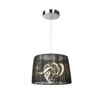 Lampadaire LED Organza Chrome Sompex 88682