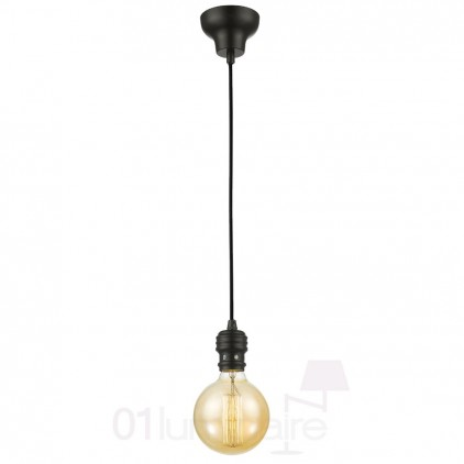 Suspension Oros noir 881P-E27-01 Market Set