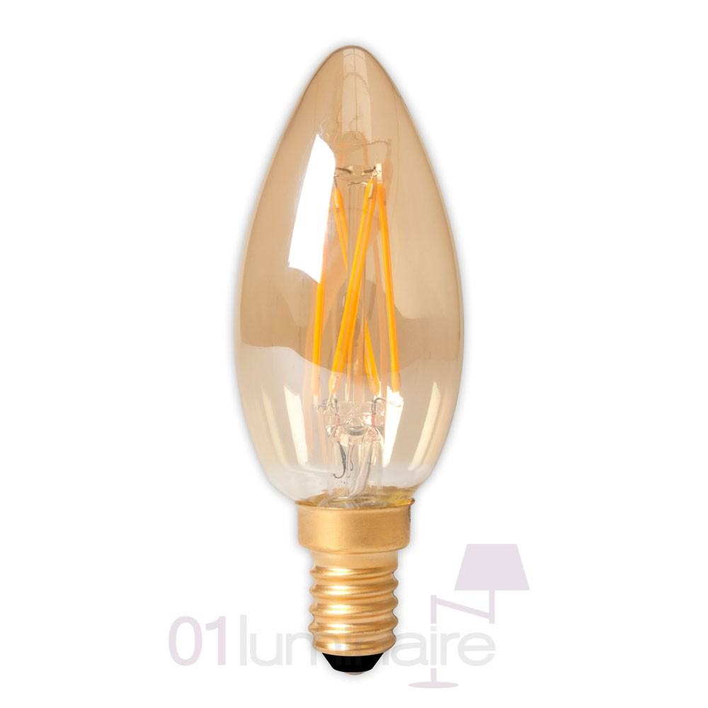 Ampoule LED filament E14 3,5W bougie 474489 Calex