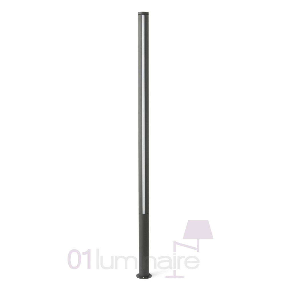 lampadaire ext rieur led grop 75602 faro. Black Bedroom Furniture Sets. Home Design Ideas