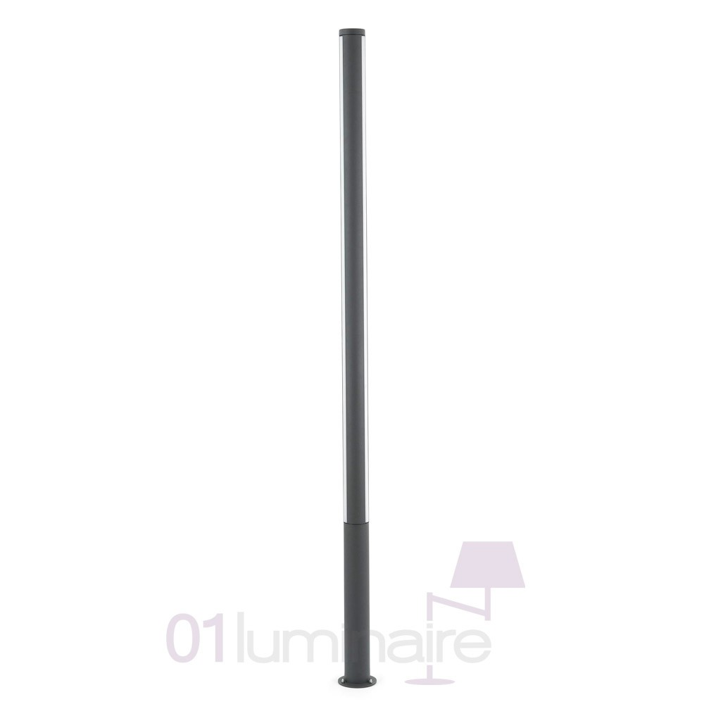 Lampadaire ext rieur led grop 75602 faro for Lampadaire a led exterieur