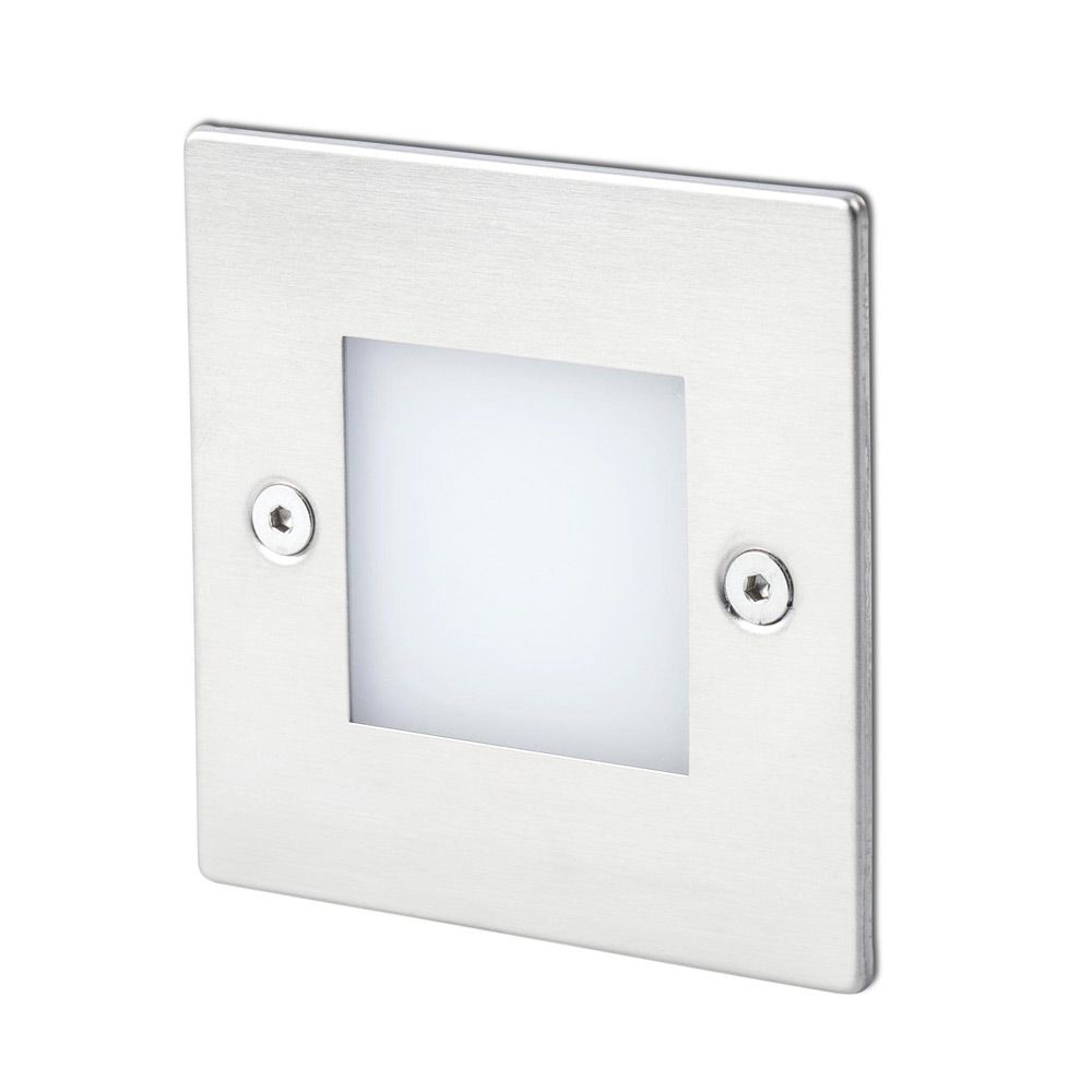 Encastrable mural exterieur led frol ip65 3000k 55lm 70135 for Luminaire exterieur ip65