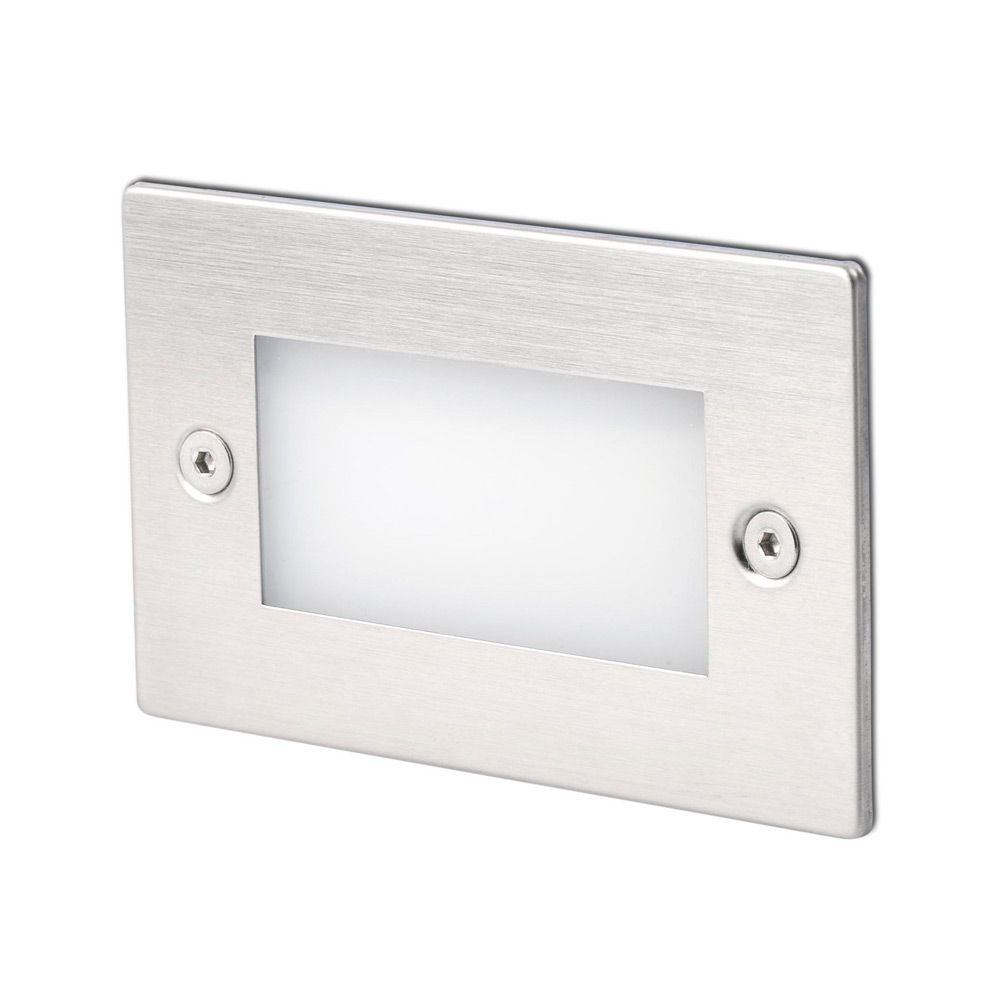 Encastrable mural exterieur led gron ip65 3000k 70lm 70134 for Led encastrable exterieur