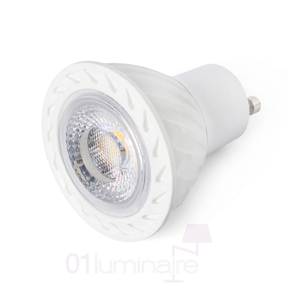 Ampoule LED GU10 8W 450Lm 2700K 17318 Blanc 38° Dimmable Faro