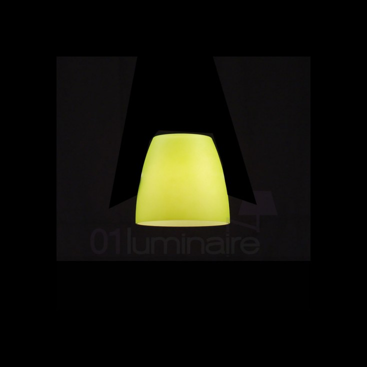 verrerie jaune citron luminaire tezzo 633yellowglass. Black Bedroom Furniture Sets. Home Design Ideas