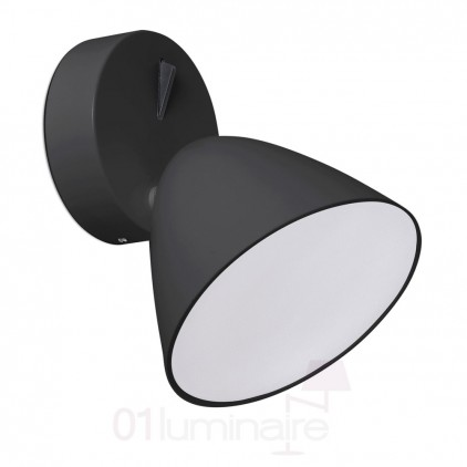 20204 Applique Flash LED Noir Faro