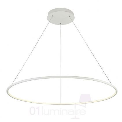 Suspension Nola LED 3800Lm 4000K Ø100cm blanc - Maytoni