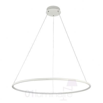 Suspension Nola LED 2900Lm 4000K Ø80cm blanc - Maytoni