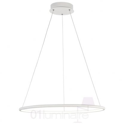 Suspension Nola LED 2300Lm 4000K Ø60cm blanc - Maytoni