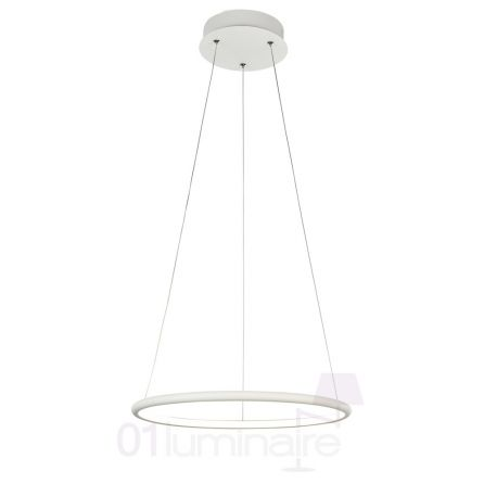 Suspension Nola LED 1400Lm 4000K Ø40cm blanc - Maytoni