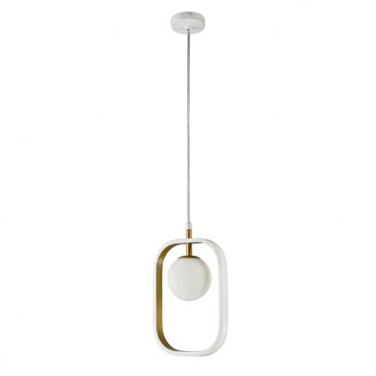 Suspension Avola 1xG9 40Wblanc/or - Maytoni