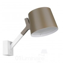 Applique Y Wall LED 900Lm 3000K blanc et gris sable - Seyvaa