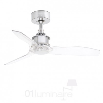 Ventilateur Just Fan Chrome Faro 33426