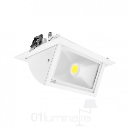 Spot Rectangulaire Orientable LED 4000K Vision EL 7692