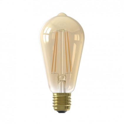 Ampoule LED filament 430Lm 2100K Gold 425420 Calex