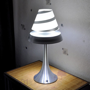Lampe anti gravité Althuria blanche Magneticland