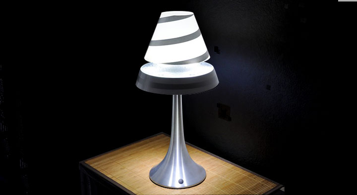 Lampe Althuria anti-gravité de Magnetic Land